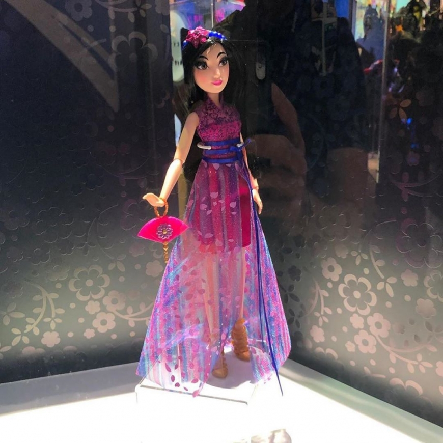 Disney Princess hasbro Style Series dolls Mulan