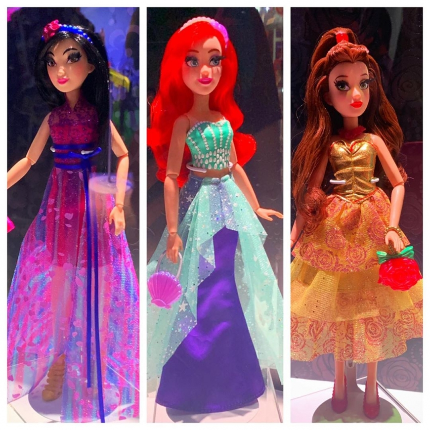 Disney Princess hasbro Style Series dolls
