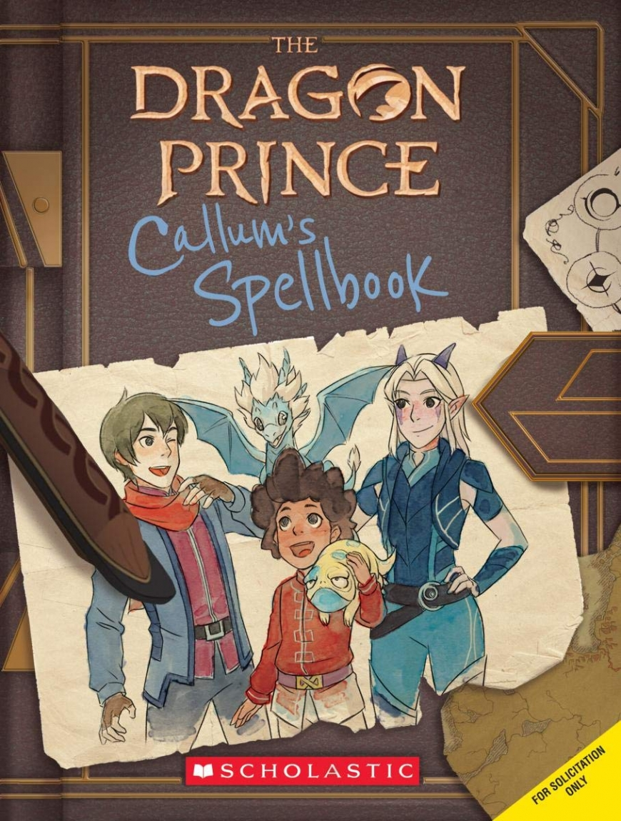 Callum's Spellbook from The Dragon Prince series