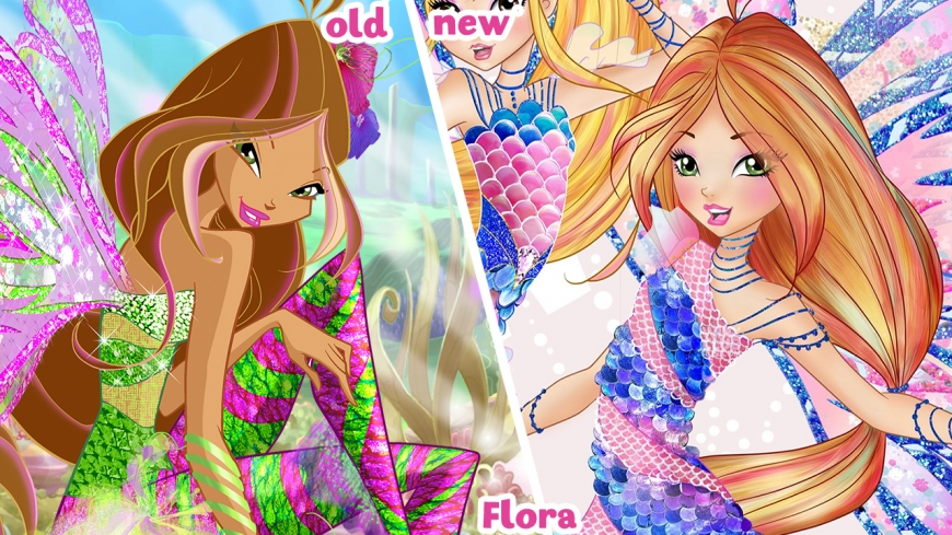 Winx new Sirenix VS old one