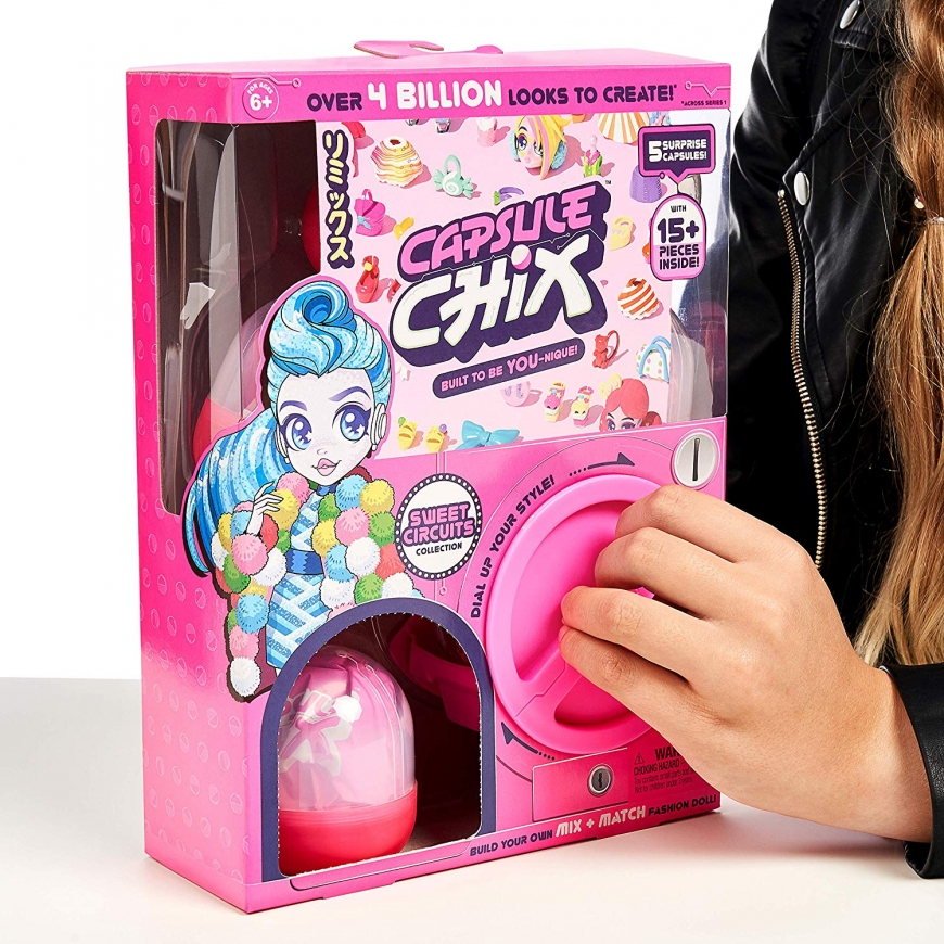 New Capsule Chix dolls - Sweet Circuits and Giga Glam Collection, and where to get them