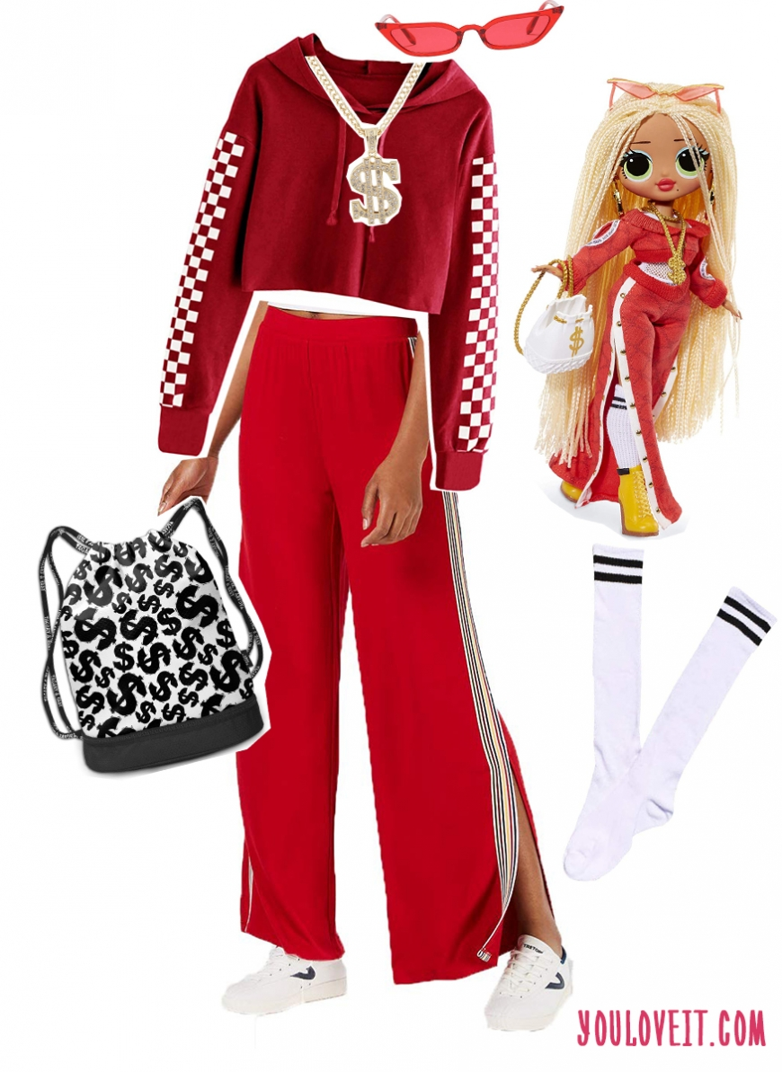Dress like LOL Surprise OMG SWAG fashion doll