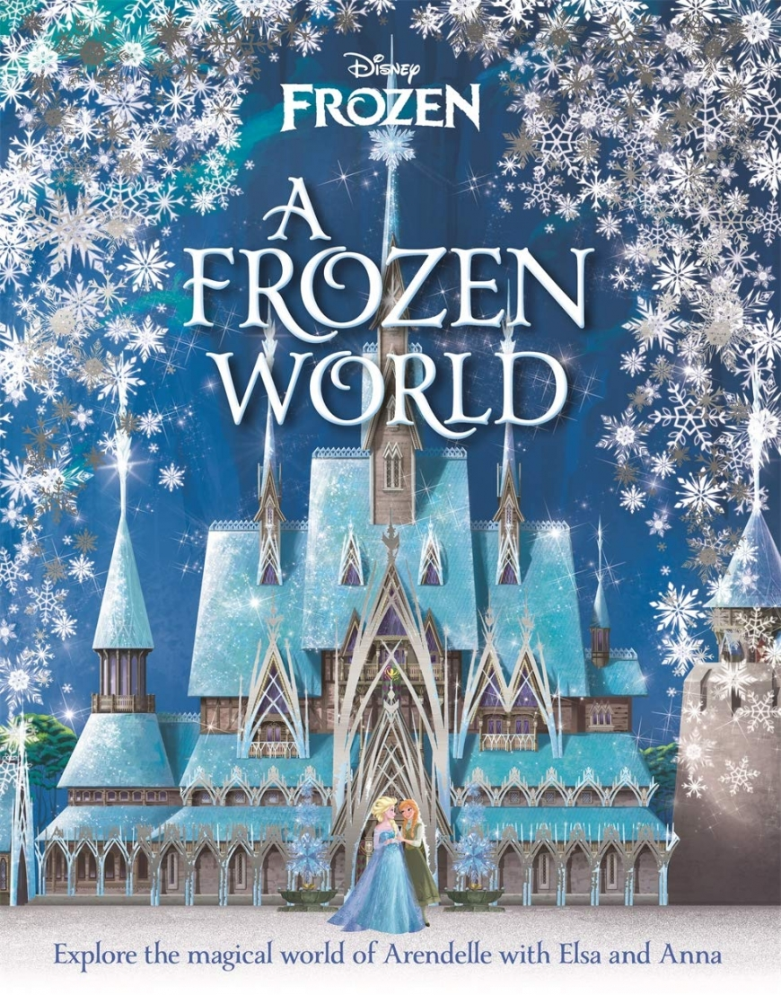 Frozen 2 books - A Frozen World