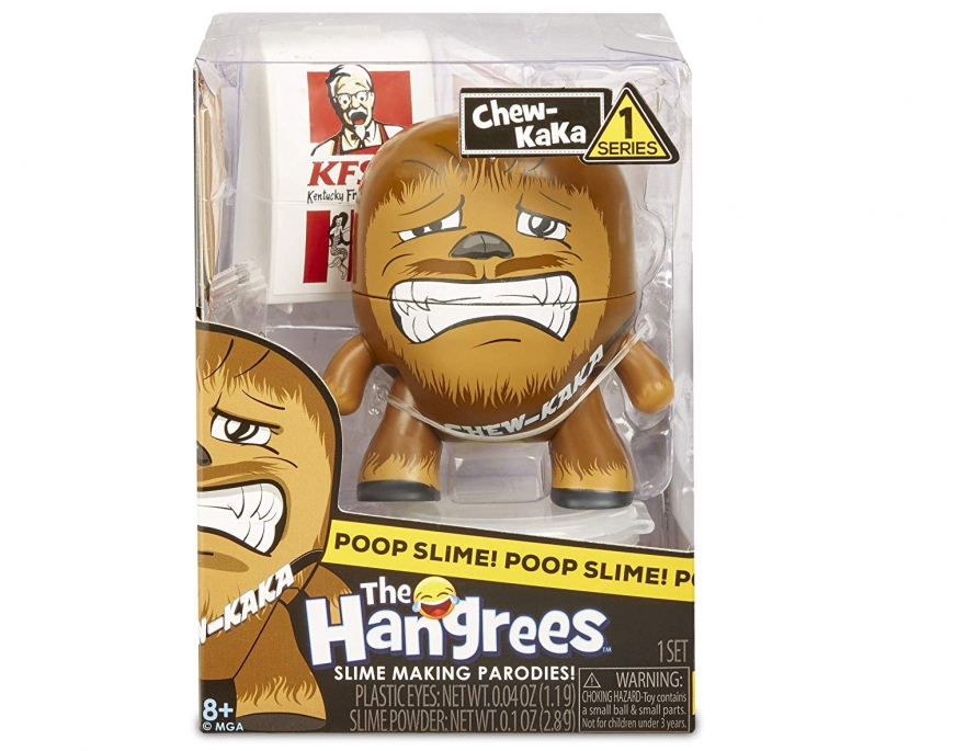 Hangrees The Chew-Kaka Collectible Parody Figure with Slime
