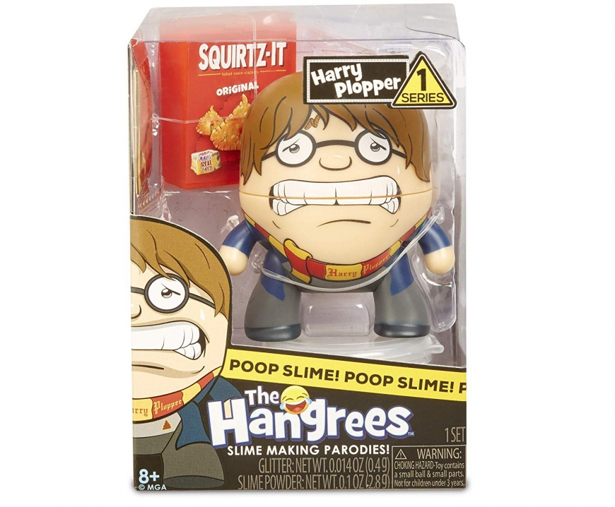 Hangrees The Harry Plopper Collectible Parody Figure with Slime