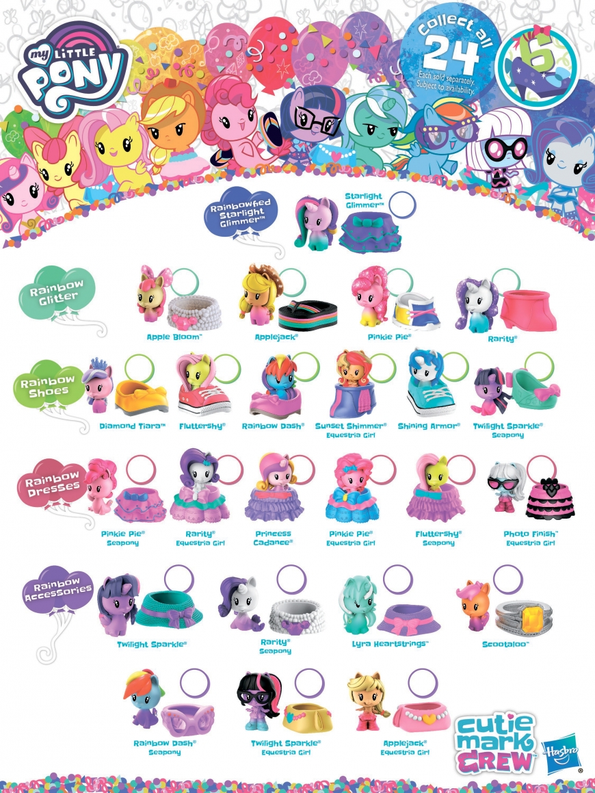My Little Pony Cutie Mark Crew 6 series
