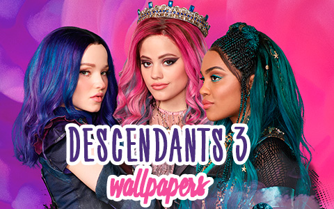 Disney Descendants 3 HD desktop wallpaper