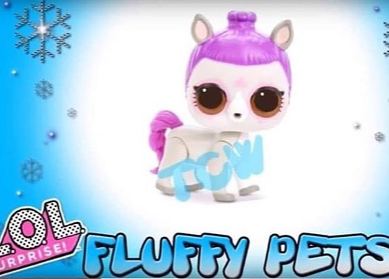 LoL Surprise Winter Disco Fluffy Pets Mystery Pack
