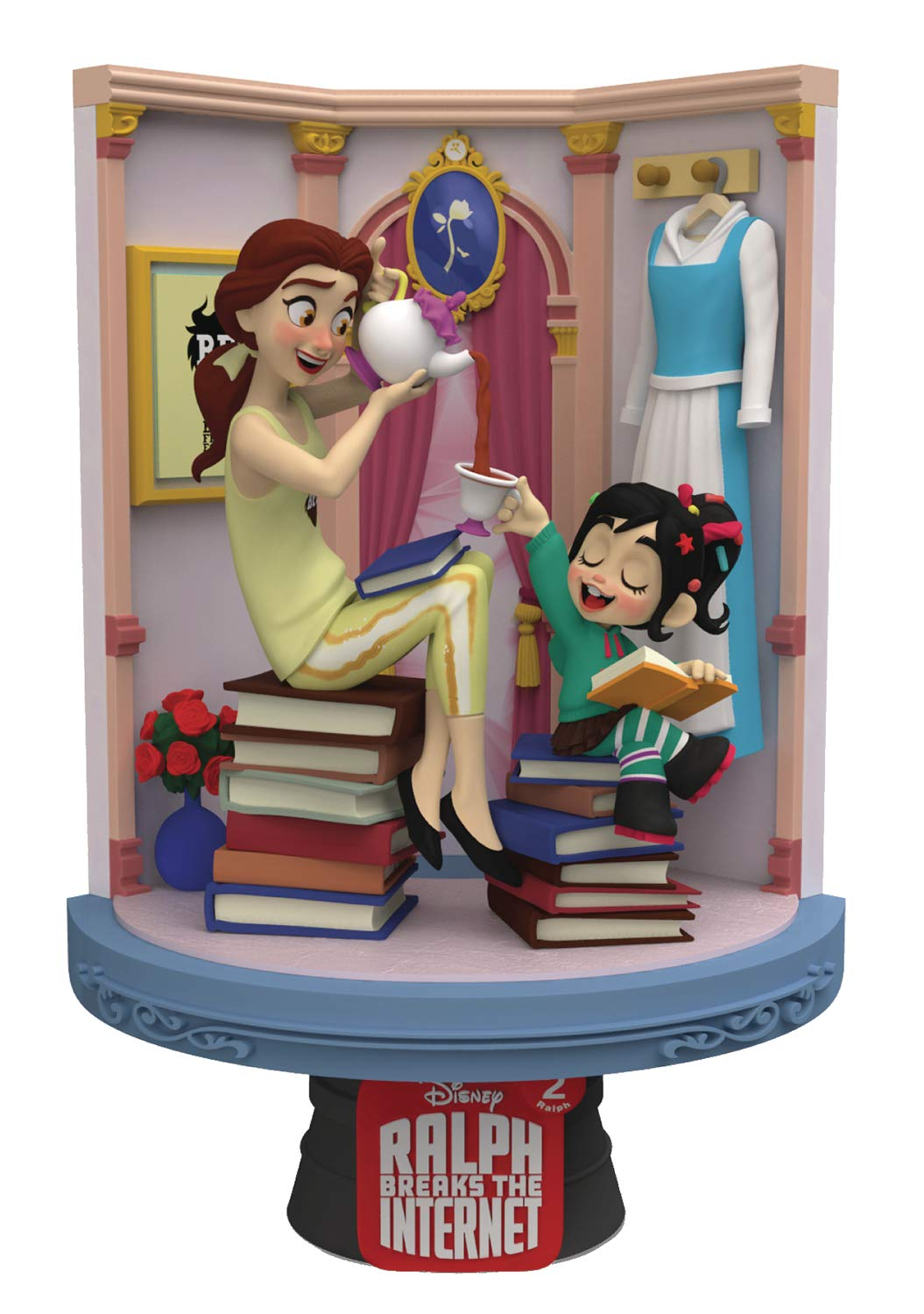 New Beast Kingdom Ralph Breaks The Internet Disney Princess D Stage Statues Are Out And Ready For Preorder Youloveit Com