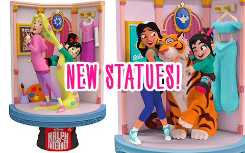New Beast Kingdom Ralph Breaks the Internet Disney Princess D-Stage Statues are out and ready for preorder!