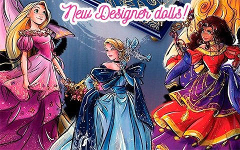 New Disney Limited Edition Designer Collection dolls - Midnight Masquerade Series 2019