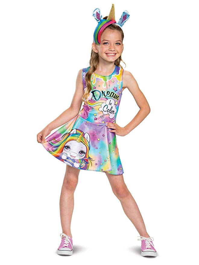 Poopsie Unicorn Rainbow Brightstar Classic Child Halloween Costume