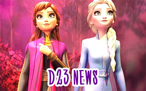 Disney Frozen 2 news from D23 expo