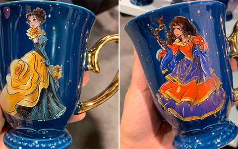 New Disney Designer Collection Midnight Masquerade mugs