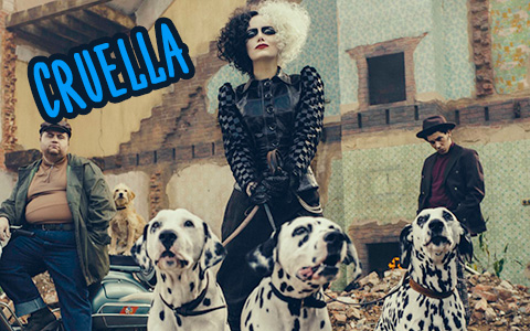 Disney new movie Cruella first image with punk rock vibes, and release date