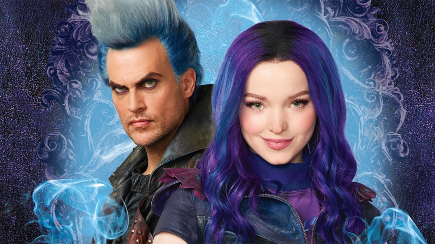 Disney Descendants 3 Like Father Like Daughter - Mal and Hades wallpaper