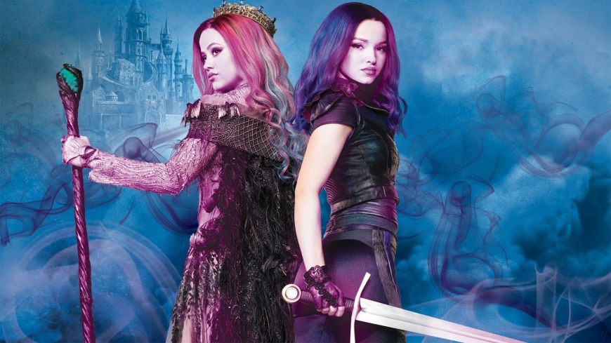 Disney Descendants 3 Mal VS Audrey wallpaper