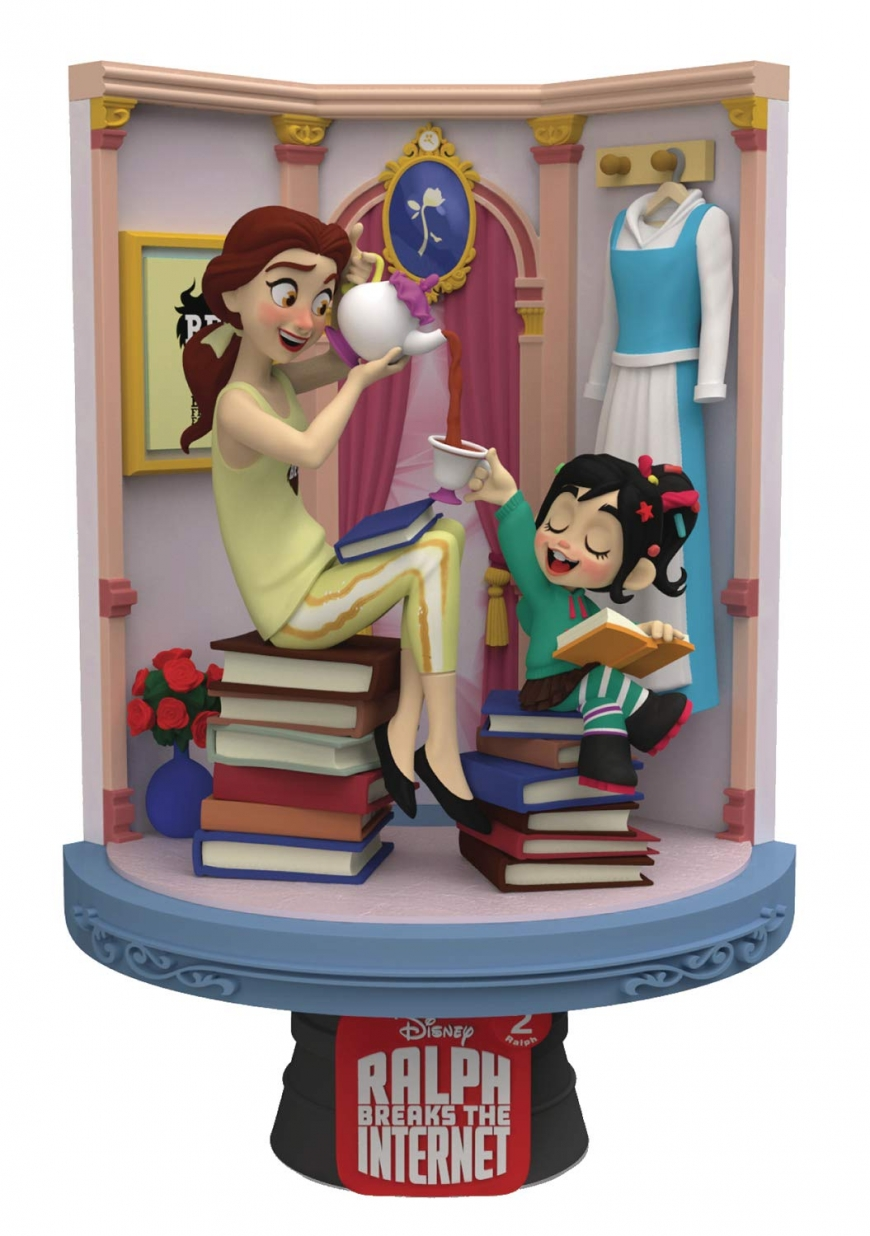 Beast Kingdom Ralph Breaks the Internet: Belle Ds-024 D-Stage Series Statue