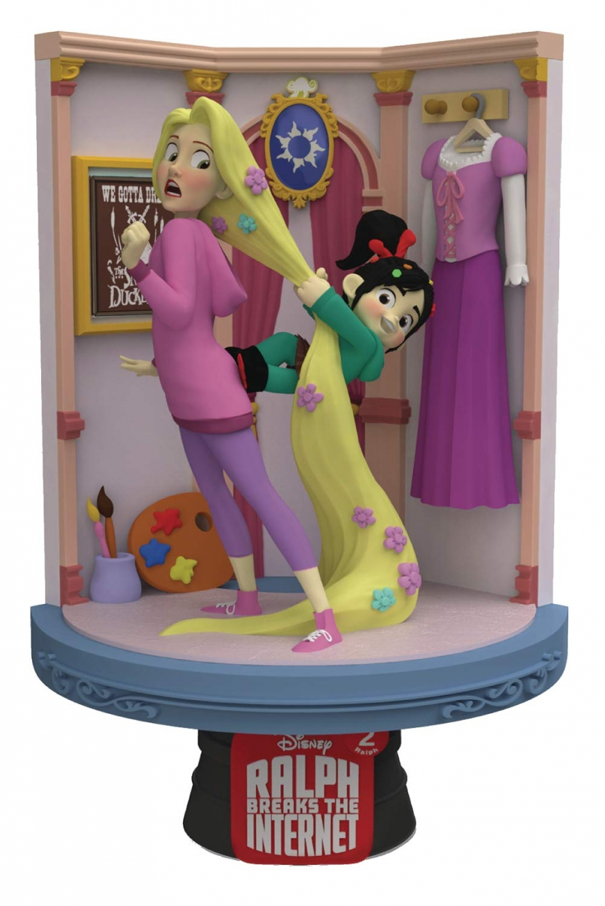Beast Kingdom Ralph Breaks the Internet: Rapunzel Ds-027 D-Stage Series Statue