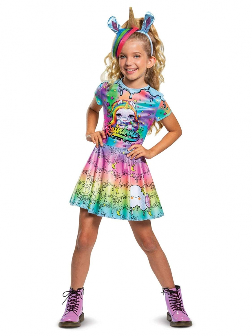 Poopsie Unicorn Rainbow Brightstar Deluxe Child Halloween Costume