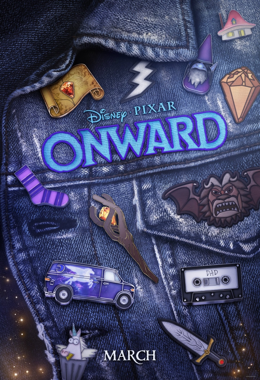 Pixar Onward new D23 poster