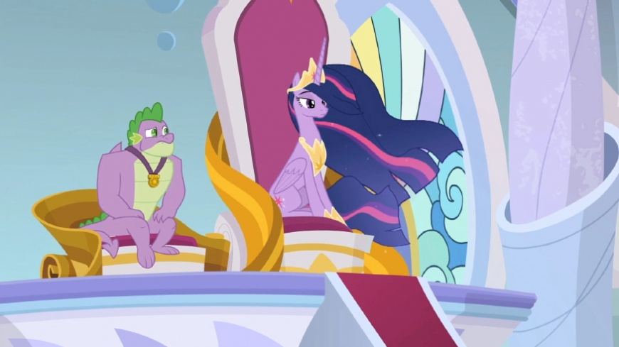Alicorn princess grown-up Twilight Sparkle from mlp season 9 episode 26 image