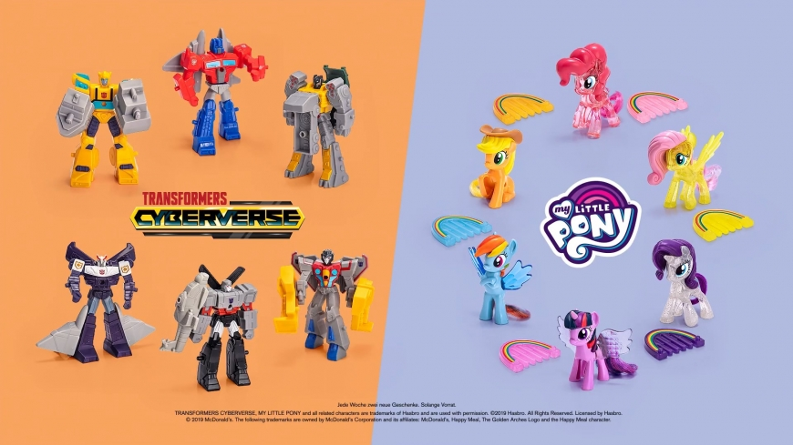 My Little Pony 2019 McDonalds Happy Meal toys
