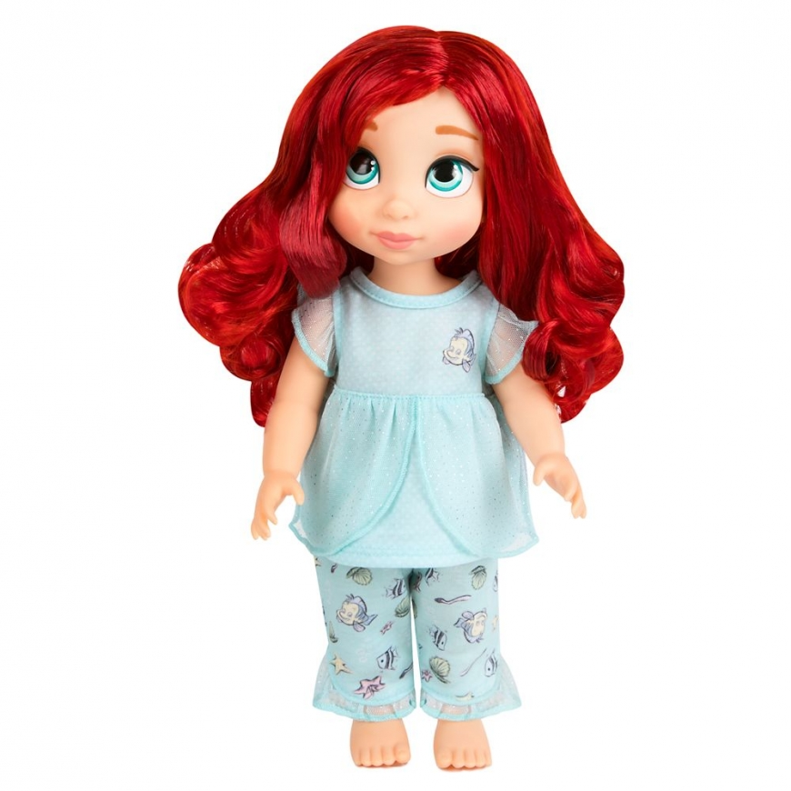 Disney Animators' Collection Ariel Matching Pajama Set for Kids and Doll