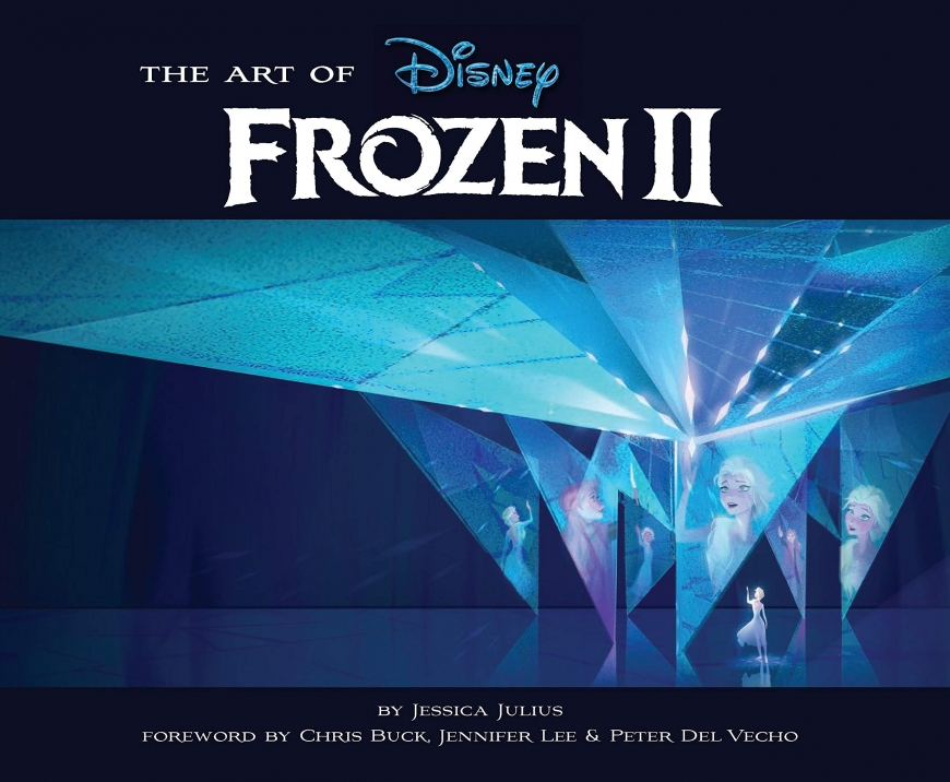List of upcoming Frozen 2 books, plus new images from cover art