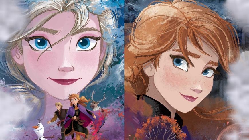 Frozen 2 Elsa and Anna wallpaper
