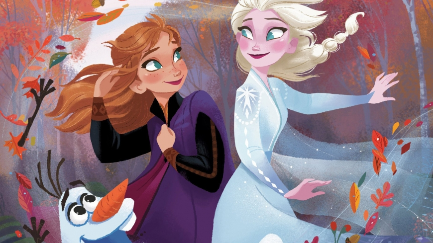 Frozen 2 HD desctop wallpaper