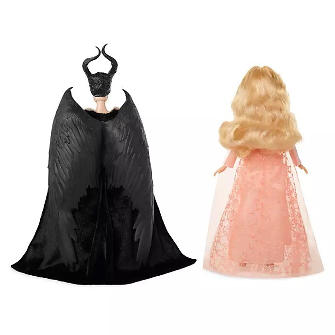 Jakks Pacifiс Maleficent 2 Mistress of Evil dolls of Aurora and Maleficent