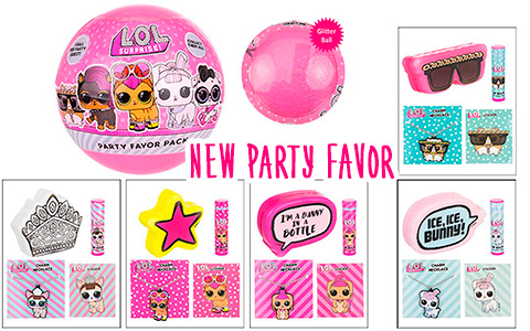 New LOL Surprise Pets Party Favors balls