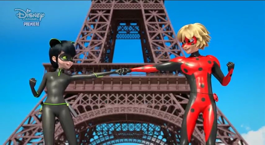 And of course these Lady Noir and Mister Bug cool and funny moments.