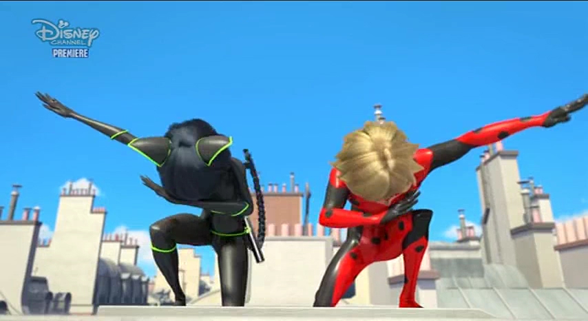 Miraculous Dab from Lady Noir and Mister Bug