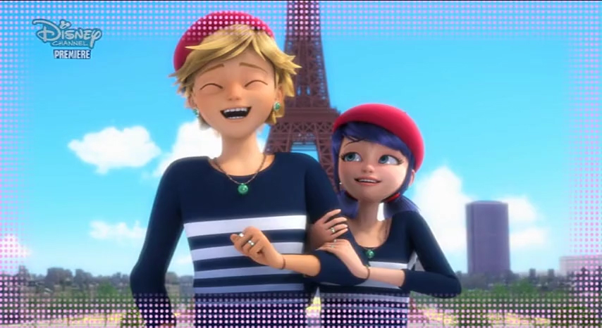Photo session with Adrien, Marinette and Juleka.