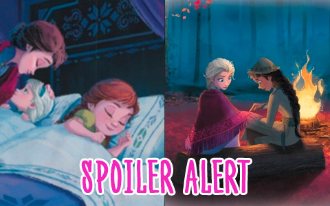 New Frozen 2 images and HUGE SPOILER ALERT!