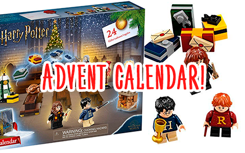 Best toy for Harry Potter fan - New LEGO Harry Potter Advent Calendar 2019!