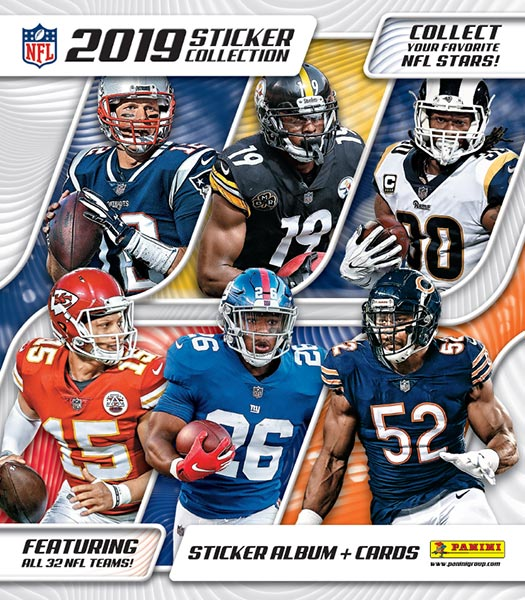 Panini NFL 2019 Sticker Collection
