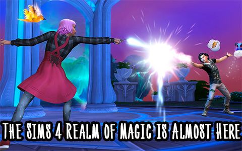 The Sims 4 Realm of Magic gameplay is revealed!