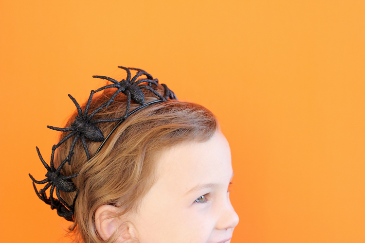 Halloween 2019 easy ideas spider crown