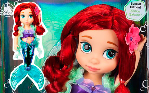 Special Edition Ariel Disney Animators' Collection Doll 15'' is out