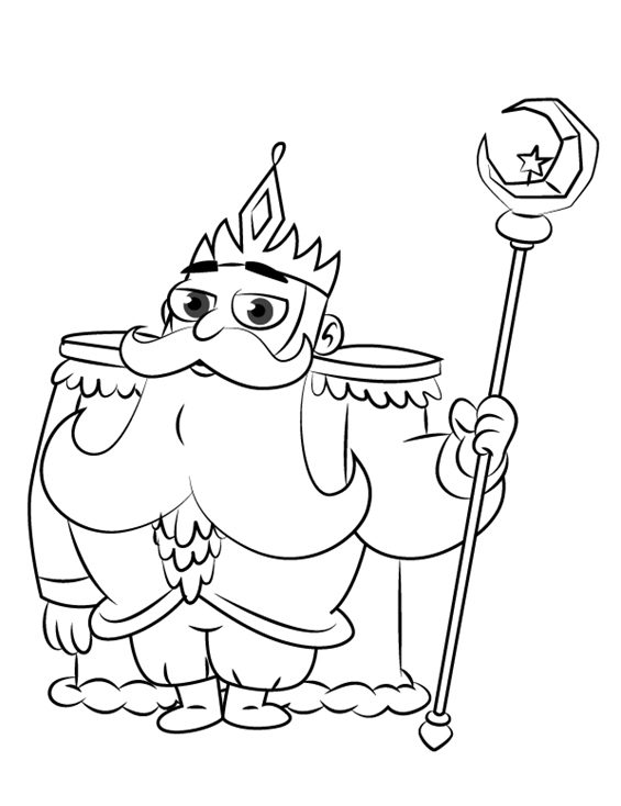 Star vs the forces of evil coloring pages