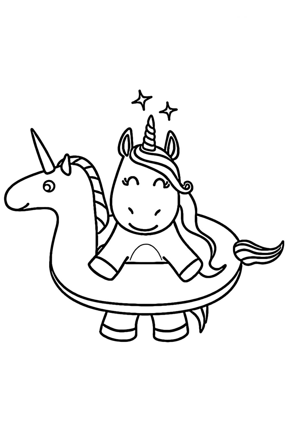 - Cute Unicorn Coloring Pages - YouLoveIt.com