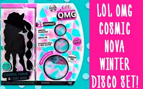 New Winter Disco LOL OMG Cosmic Nova will come in set with her little sister Cosmic Queen