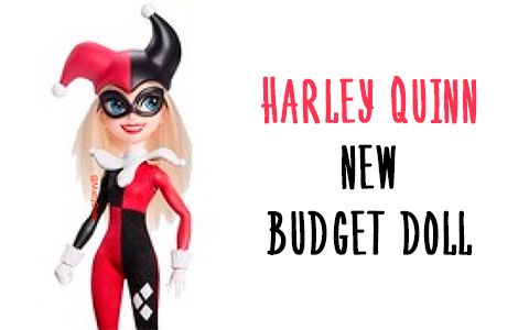 New Harley Quinn DC Super Hero Girls 2019 budget doll