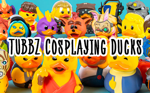 Collection figures TUBBZ Cosplaying Duck Collectible: ducks in the form of different characters!