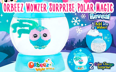 Orbeez Wowzer Surprise Polar Magic series 3 - winter toy collection!