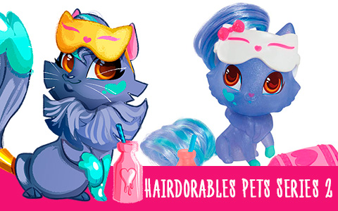 Hairdorables Pets Series 2 new toys