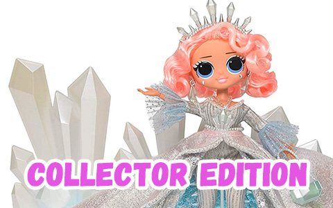 LOL Surprise! OMG Crystal Star 2019 Collector Edition Fashion Doll is out!